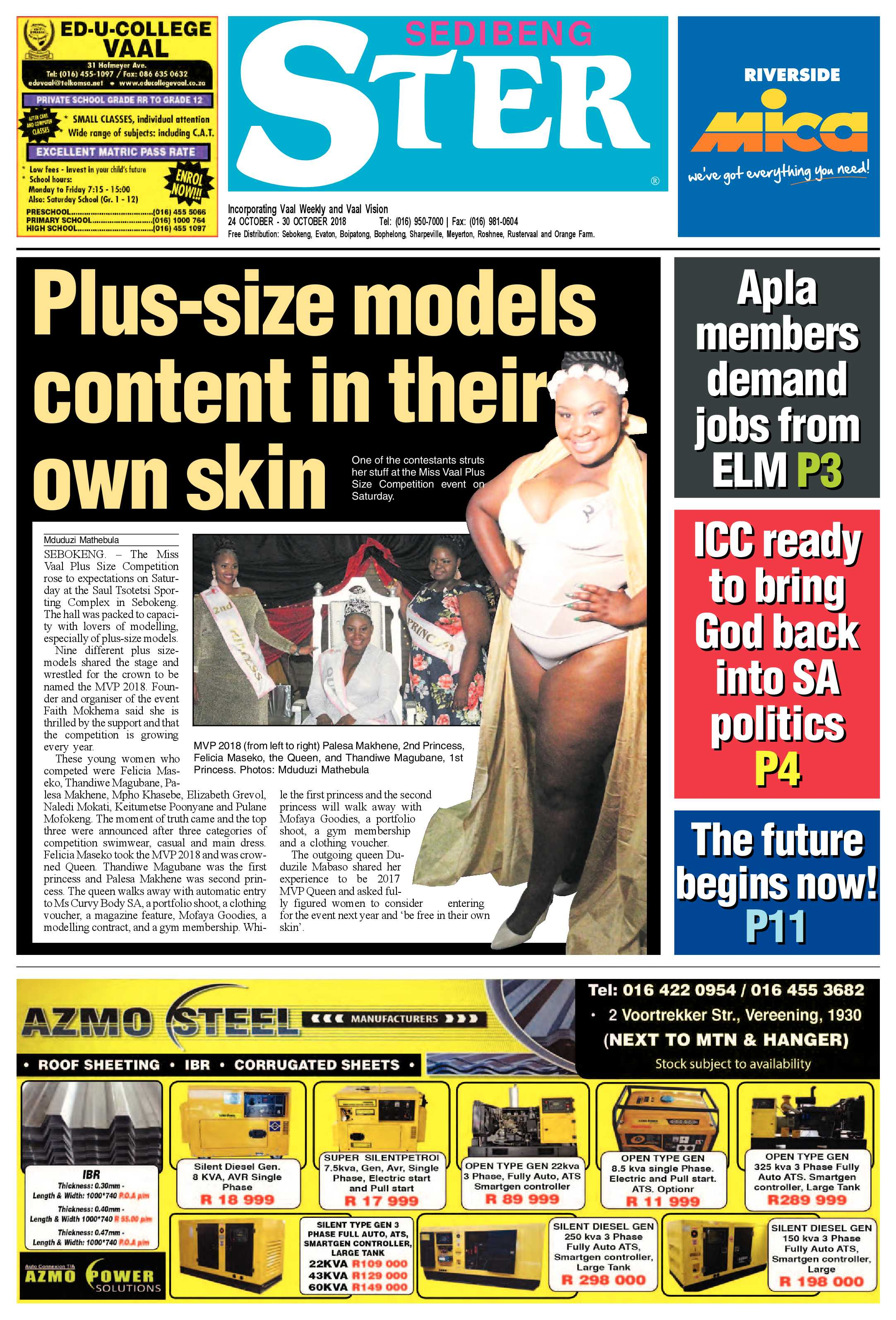 ePaper Publications Archive - Page 4 of 11 - Sedibeng Ster