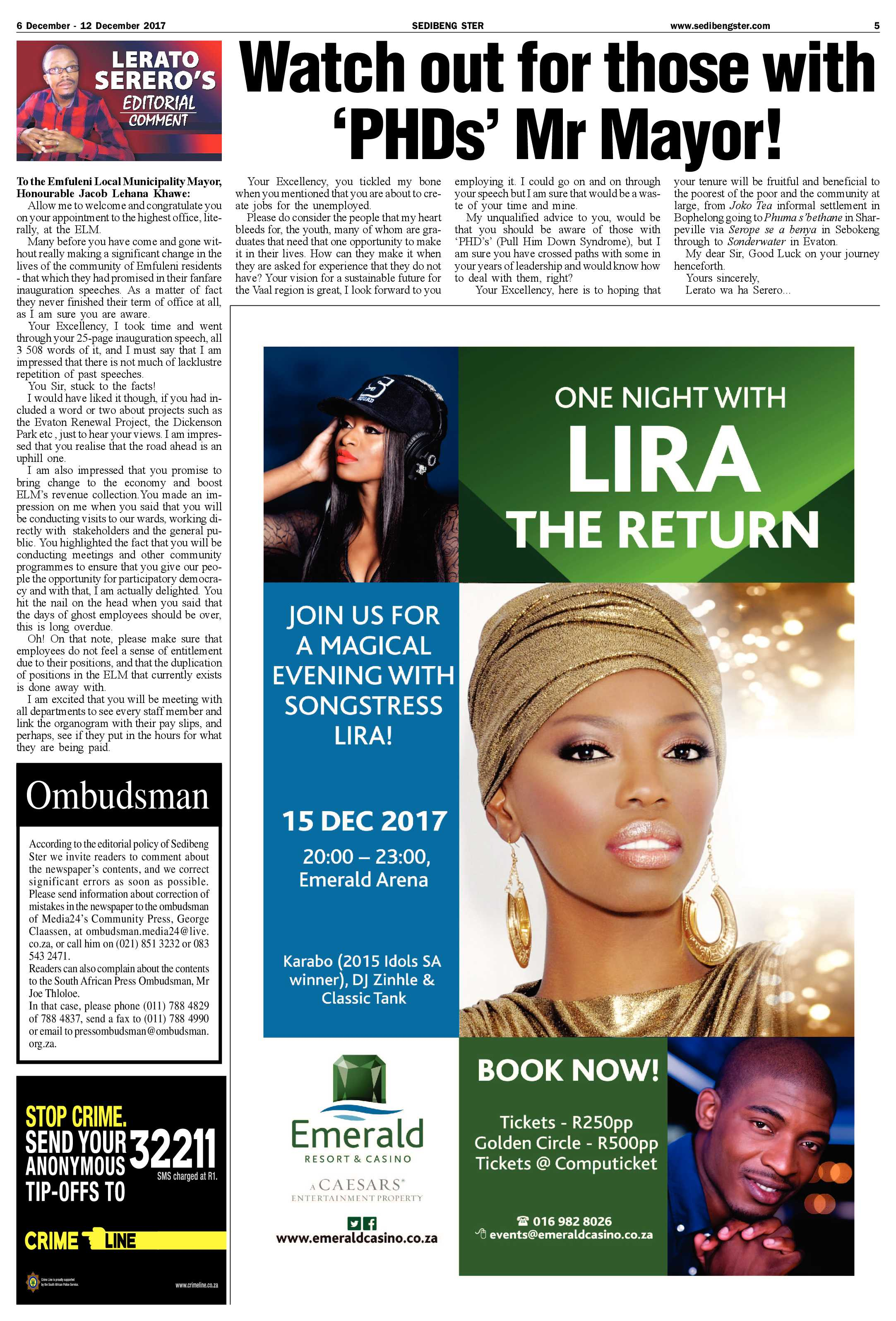 sedibeng-ster-6-12-december-2017-epapers-page-5